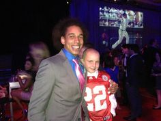 Kenny Bell and Jack Hoffman at the 2013 ESPYs.