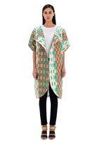 KISUA | Shop African Fashion Online - African print tulip coat