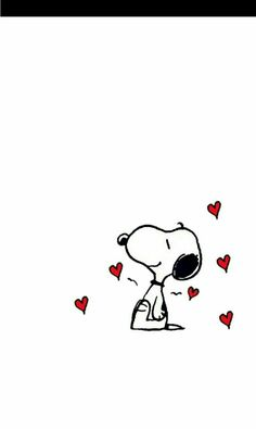 Love all around Snoopy 💜💙💛❤💚