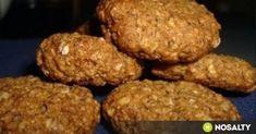 Mézes -zabpelyhes keksz recept képpel. Hozzávalók és az elkészítés részletes leírása. A mézes -zabpelyhes keksz elkészítési ideje: 35 perc Health Eating, Biscotti, Nutella, Muffin, Healthy Recipes, Vegan, Cookies, Chocolate, Baking