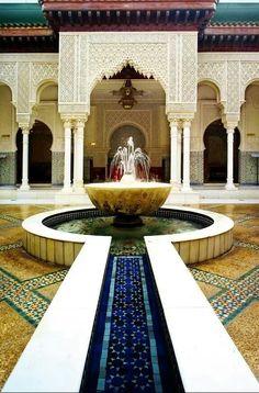 Moroccan Pavillion.