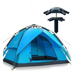 Purplbox Waterproof Double Layer Instant Family Camping Tent Outdoor Hiking 34 Person ** You can get more details by clicking on the image.(This is an Amazon affiliate link and I receive a commission for the sales)
