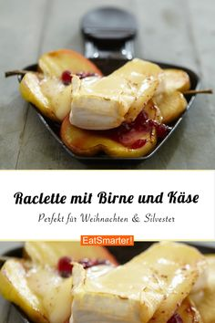 Raclette recipe with pears and cheese – the best combination for a sociable raclette evening eatsmarter.de Informations About Raclette mit Birne und Käse Pin You can easily … Pear Dessert Recipes, Pear Recipes, Vegetarian Recipes, Desserts, New Year's Food, Supper Recipes, Fabulous Foods, Winter Food, Queso