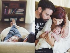 newborn photography tips - Lifestyle vs. posed