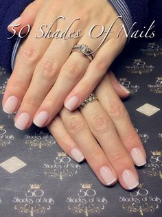 Bio Sculpture gel French overlays