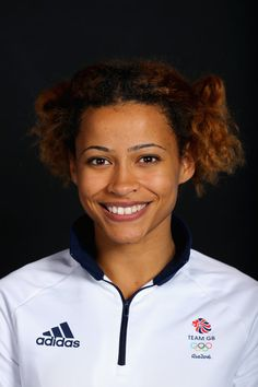 A portrait of Jazmin Sawyers, a member of the Great Britain Olympic team during Rio 2016, competed in the long jump