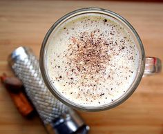Sugar-free almond milk eggnog - enjoy your holidays without blowing your diet.