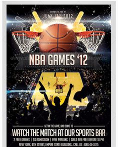 the 24 best sports flyer template images on pinterest business
