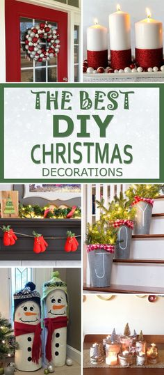 The BEST DIY Christmas Decorations