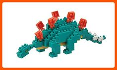 Stegosaurus made with micro-sized building blocks Contains over 100 individual pieces, from 4 x 4 x Combine with other animals from nanoblock's Miniature Collection Hokkaido Dog, Toys For Little Kids, Construction Lego, Japanese Tree, Beautiful Home Designs, 3d Puzzles, Gadget Gifts, Toys Online, New Model