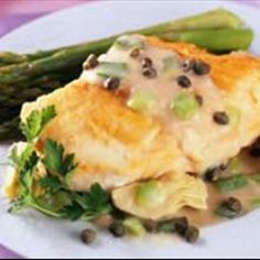 Lemon Artichoke Chicken on BigOven: Excellent chicken recipe for a winter dinner.
