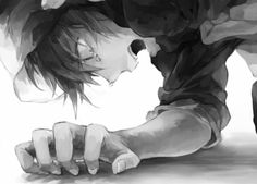 No No nonono It can't be she is alive your lying she can't be dead. She promised me. I can't live without her nononono. Hiro can't be dead. It's all my fault it is my fault she died............. My fault.............
