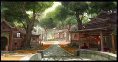 village by molybdenumgp03.deviantart.com on @deviantART