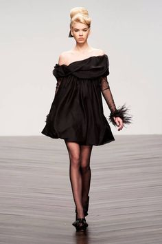 This LBD is positively adorable. Want it! PPQ RTW Fall 2013.