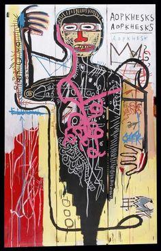 Assez ethnique. / By Jean-Michel Basquiat.
