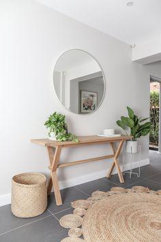 30 Creative Interior Design Trending This Summer - Home Decoration Experts Amazon Home Decor, Interior Decorating, Interior Design, Diy Interior, Kitchen Interior, Diy Design, Round Mirrors, Entryway Decor, Modern Entryway