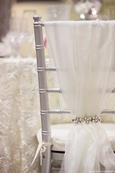 brides of adelaide magazine - chair cover - chair dressing - reception -