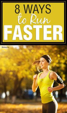 Learn 8 Ways to train yourself to Run Faster! running ideas gym, running ideas motivation, running ideas tips Running Workouts, Running Tips, Running Training, Marathon Training, Trail Running, Triathlon Training, Running Plans, Running Form, Running Club