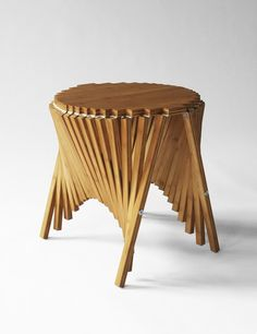 Rising furniture, Robert van Embricqs Flat >>>Voluminous The power of #Wood to turn into #Furniture #WoodLovers