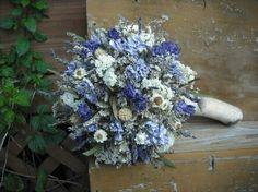 Dried blue