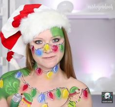 I'm Not a Christmas Tree - Cute Elf Makeup Tutorial  Check out this fun whimsical look from our friend @madeyewlook  https://youtu.be/sRdk_5_gyPU  Contact us at 585-482-8780 for more information on theatrical makeup and tools or check out our website www.arlenescostumes.com  #madeyoulookbylex #theatricalmakeup #christmas #elf