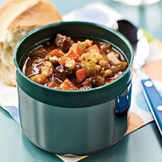 Beef and Barley Soup Recipes < Our Best Healthy Lunch Ideas - Cooking Light Mobile Fast Metabolism Recipes, Fast Metabolism Diet, Metabolic Diet, Beef Soup Recipes, Slow Cooker Recipes, Cooking Recipes, Healthy Recipes, Healthy Soup, Healthy Cooking