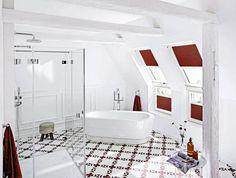 Zdjęcie nr 3 w galerii - Pomysły na kafelki w łazience