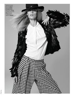 Ansi Soit Style | Julia Stegner |Philip Gay #photography | ELLE France October 2012
