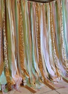 Pink Mint Gold Sequin Fabric Wedding Backdrop Garland, would be great for a photobooth! Wedding Fabric, Diy Wedding, Dream Wedding, Trendy Wedding, Lace Wedding, Wedding Cakes, Wedding Photos, Wedding Ideas, Gold Sequin Fabric