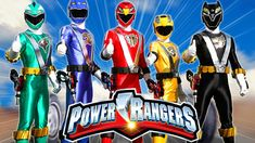 Finger Family Rhymes Power Rangers Cartoon   Finger Family Children Nurs...