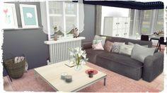 Dinha Gamer: Apartment DU ROSE • Sims 4 Downloads