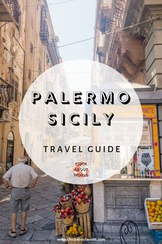 Sicily Travel, Italy Travel Tips, Slow Travel, Palermo Sicily, Sicily Italy, Visit Italy, Cool Places To Visit, Travel Guides, Trip Planning