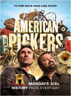 4th of July DVD Giveaway – American Pickers! | The Antiques Diva