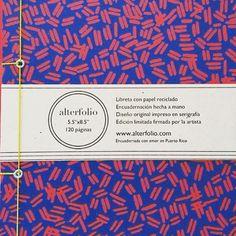 Nos gusta este cuaderno de alterfolio hecho a mano que ofrece @diaconcalma