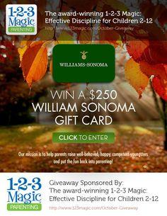 Enter to win $250 to Williams Sonoma