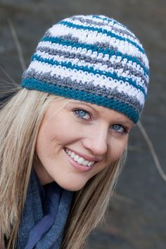 The Ziggurat Beanie PDF Crochet Pattern - Instant Download on Etsy, $4.00