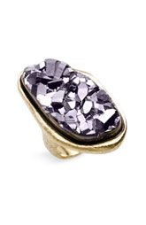 oval chunky ring