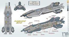 Pursuing Echo by FlipFox Spaceship Interior, Spaceship Design, Concept Ships, Concept Art, Character Concept, Game Character, Starship Concept, Sci Fi Spaceships, Space Engineers