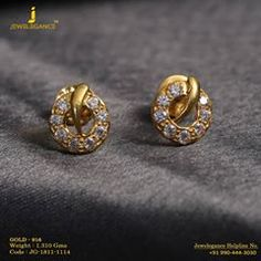 Graceful and elegant designs... Get In touch with us on+919904443030  #myjewelegance #realdiamond #gold916 #love #jewellery #fashion