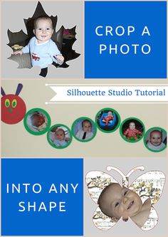 Learn how to crop a photo into any shape using Silhouette Studio.