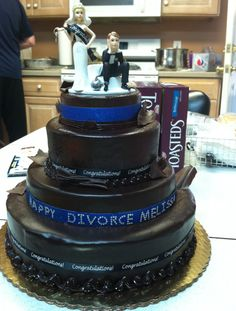 My divorce cake