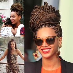 Top 60 All the Rage Looks with Long Box Braids - Hairstyles Trends Box Braids Updo, Afro Braids, Short Box Braids, Jumbo Box Braids, Box Braids Styling, Plaits, Cornrows, Box Braids Hairstyles, Short Hair