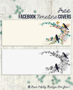 Free Vintage Bluebird Facebook Timeline Covers