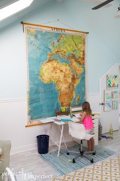 Homeschooling & Setting up the School Room | perfectly imperfect