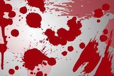 camicia macchiata di sangue