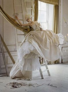 Vogue Italia Couture Editorial Lady Grey, Spring/Summer 2010 Shot #7 .Marie Antionette style JW