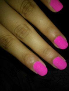 Matte neon pink !
