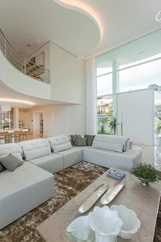 72 Contemporary & Modern Living Room Design Ideas For 2019 Living Room Modern, Living Room Interior, Living Room Designs, Living Room Decor, Dream Home Design, Modern House Design, Home Interior Design, Luxury Homes Dream Houses, Luxury Home Decor