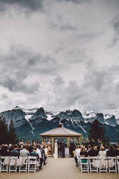 Mariage hivernal à la montagne : un décor de rêve