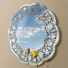 Rosie Mirror - innovative wall décor | Lightly <3